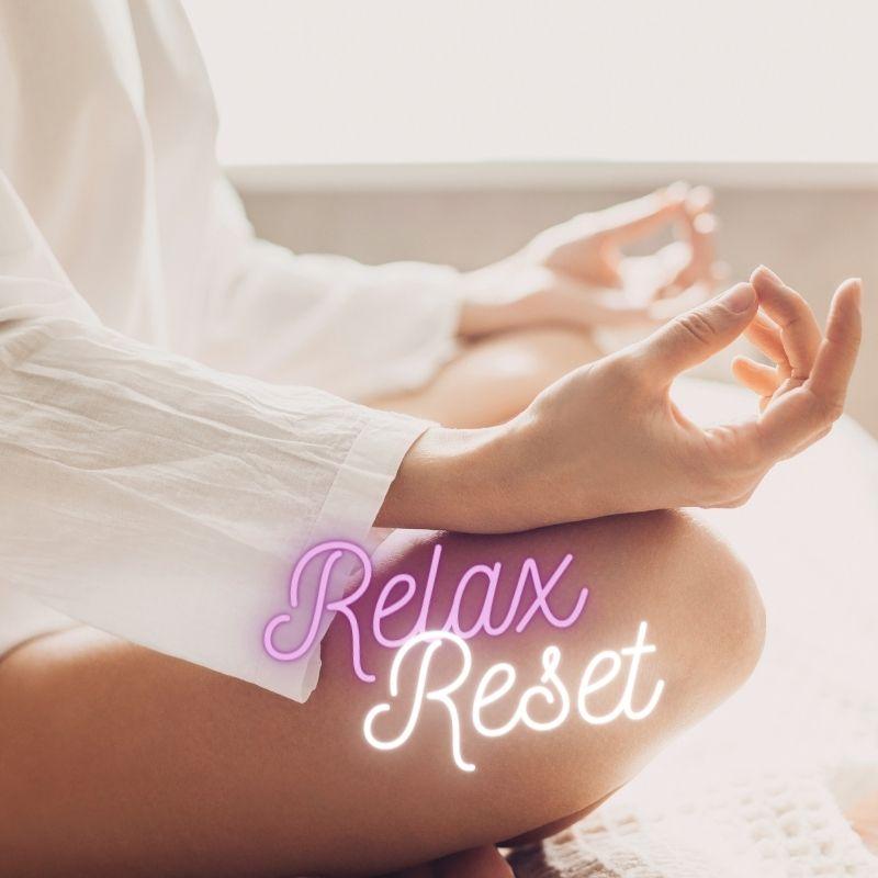 Relax en reset hoofdpijn